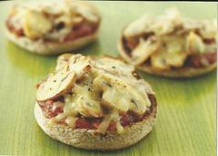Mushroom & Cheese Toasties
