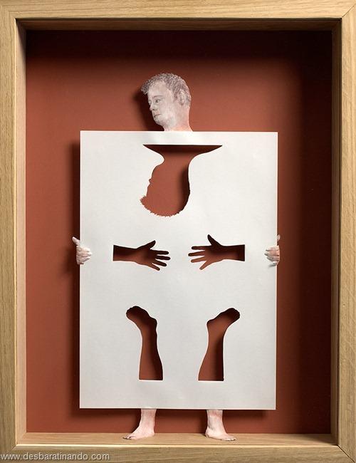 obras de arte em papel 3D origami Peter Callesen desbaratinando (32)