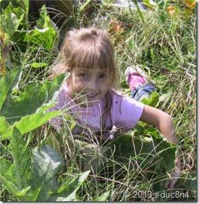niño en la naturaleza by educ8n4