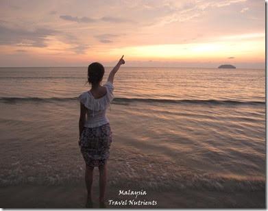 沙巴亞庇丹容亞路海灘夕陽 Perdana Park音樂水舞 (20)