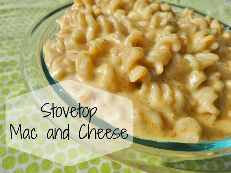 Stovetop Mac and Cheese  Simple Moments Stick