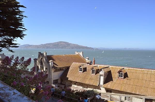 從Alcatraz上看海景