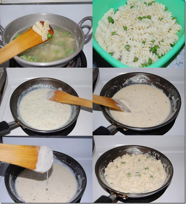 Rotini pasta process