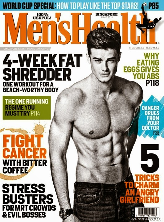 Christian Arno Williams Men's Health cover