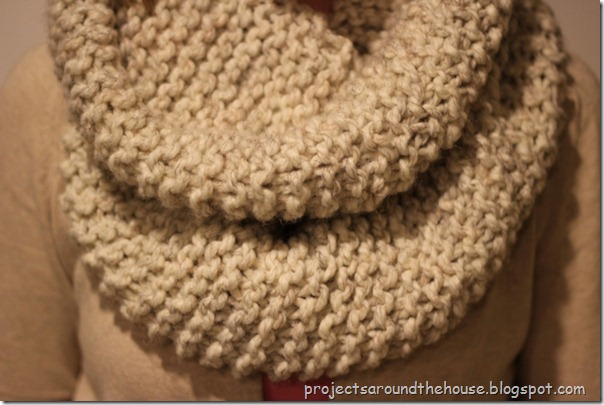 knit cowl scarf