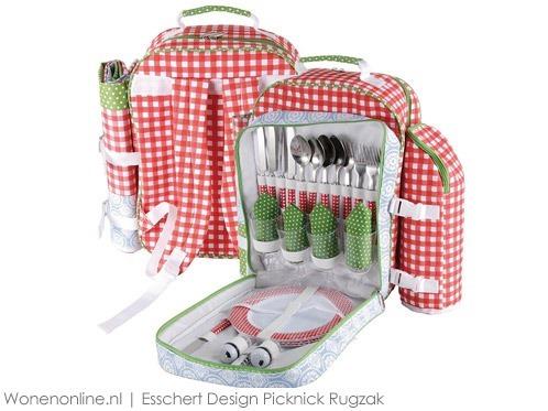 Esschert-Design-Picknick-Rugzak