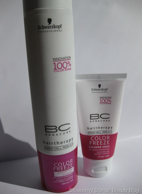 BC Bonacure Color Freeze Shampoo & Colored Ends