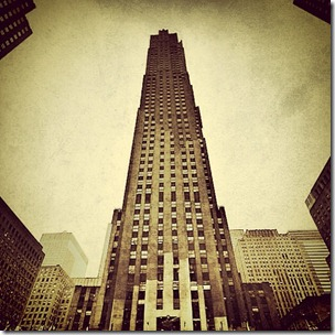 Rockefeller-Center-NYC-Sepia