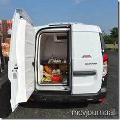 Dacia Dokker Refrigeration 07