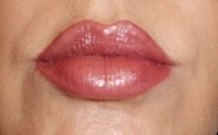 lips with Colorscience Lip Polish Long Lasting Colore in Simply Mauvelous
