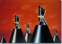 Klapheck, Der Krieg, 1965