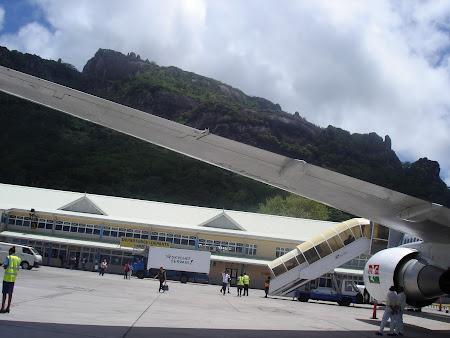 Aeroport Mahe Seychelles
