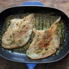 Skate With Green Herb Sauce Recipe