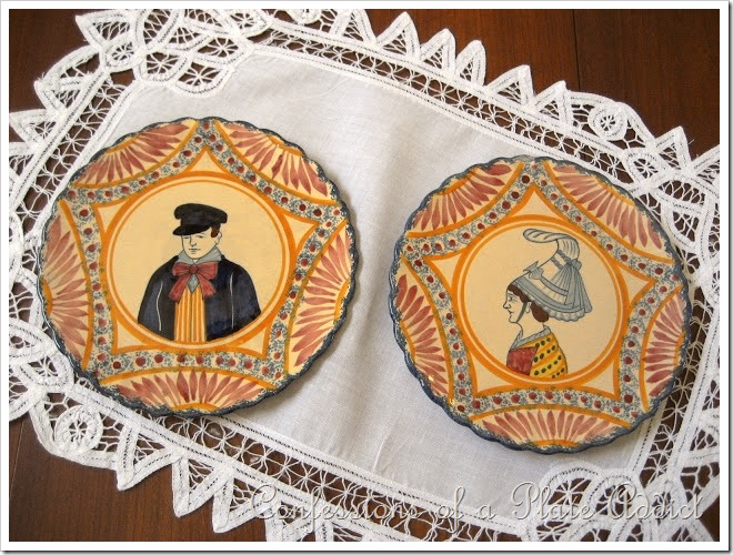 CONFESSIONS OF A PLATE ADDICT Quimper Plates