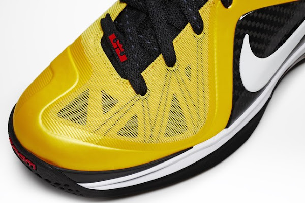 Nike LeBron 9 PS Elite Varsity MaizeBlack Official Images