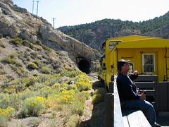 Train ride on the Norther Nevada RR