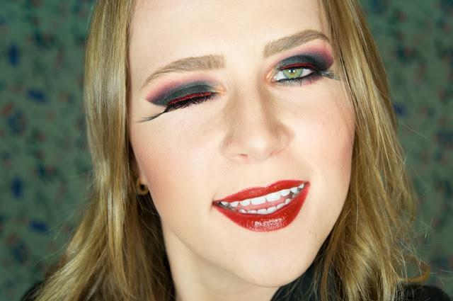 maquiagem bruxa halloween