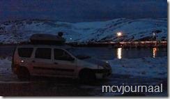 Arctic Roadtrip Erik met Dacia Logan MCV 10