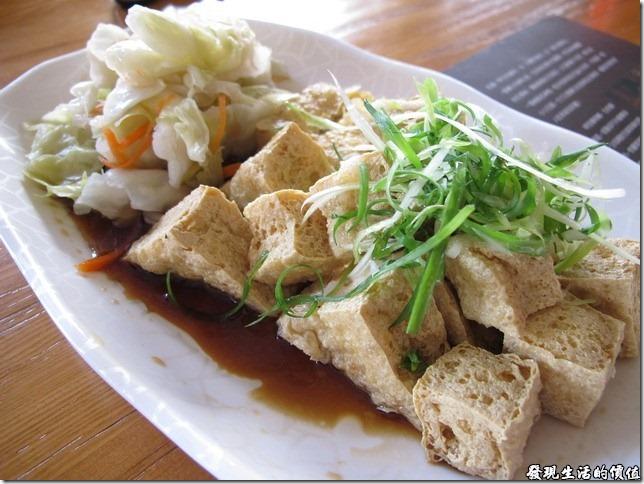 台南豪記臭豆腐,招牌臭豆腐