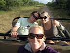 Hails, Dyl and Kimmy on an afternoon game drive.