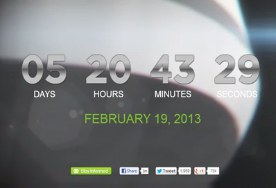 HTC Count down one