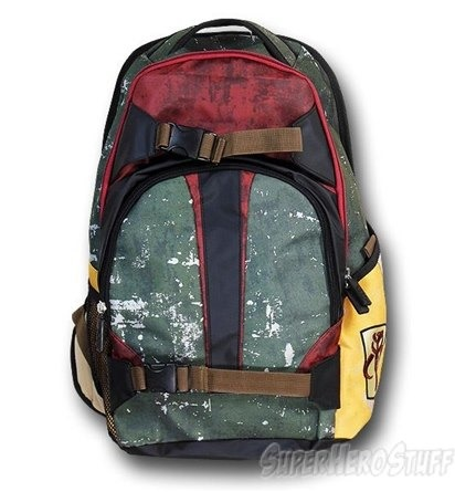 Boba Fett Themed Backpack from Super Hero Stuff