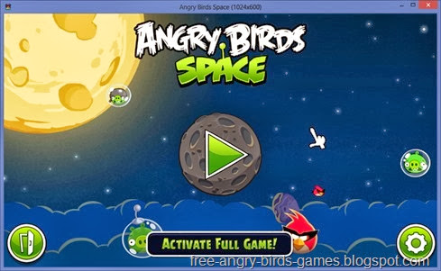 Free Download Angry Birds Space v1.6.0 PC Game