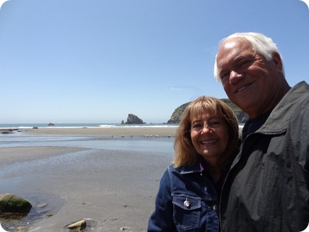 Paul and Marsha Oregon coast