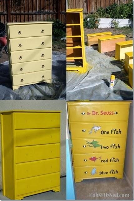Seuss One Fish Dresser obSEUSSed