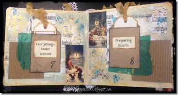 advent journal open page