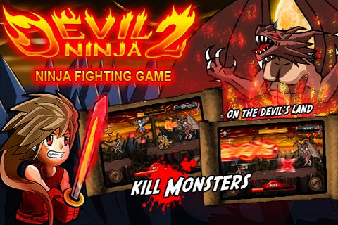 devil-ninja-2 for android screenshot
