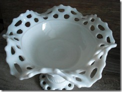 westmoreland glass doric lace milk glass