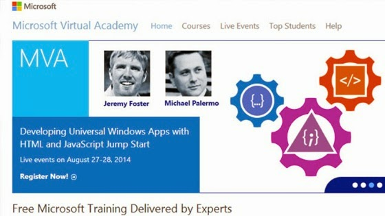 Get Free IT Training with Microsoft Virtual Academy via Lifehacker
