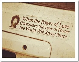 love of power