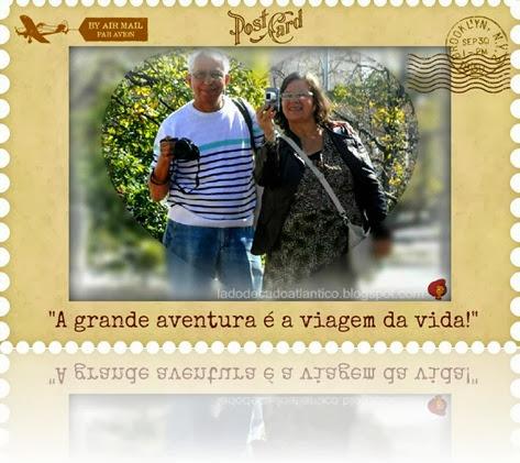 Imagem de Zizi e José Ricardo passeando na Alameda dos Oceanos em Lisboa