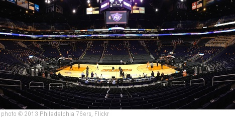 'A Panoramic View of US Airways Center' photo (c) 2013, Philadelphia 76ers - license: http://creativecommons.org/licenses/by-nd/2.0/