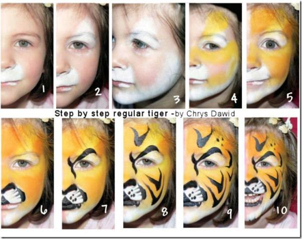 1 -maquillaje de tigre (10)