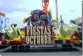 desfile inaugural de fiestas de octubre 2013 artistas en foro porincipal y el palenque venta de boletos