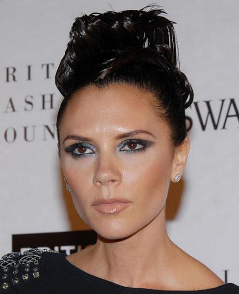 Victoria Beckham Updos Hairstyle
