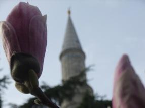 minarete de Hagia Sofia, Estambul