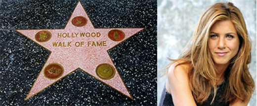 Jennifer Aniston to receive Hollywood Walk of Fame Star