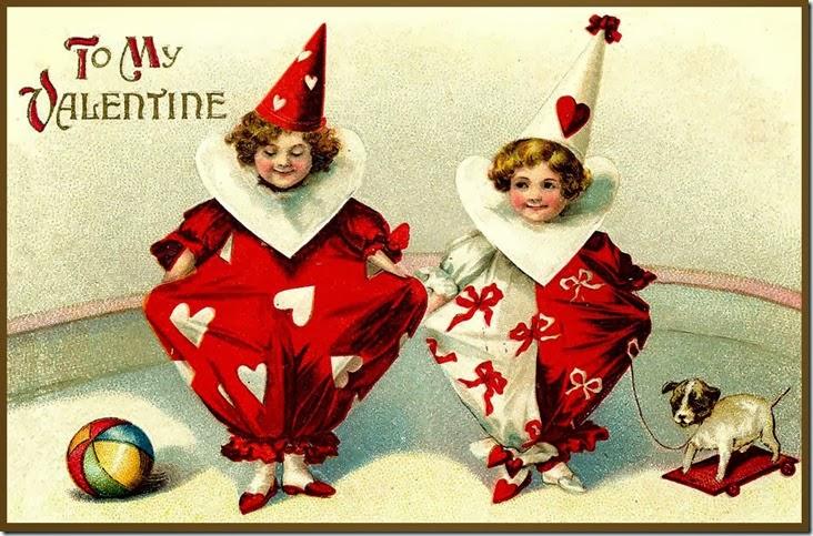 Vintage_Child_Clown_Valentine