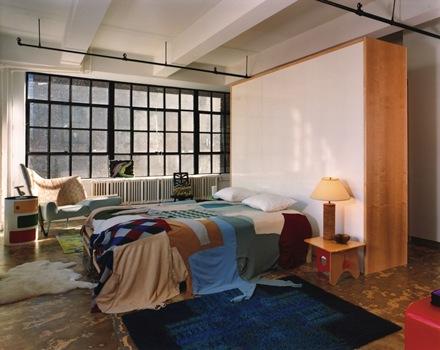 decoracion-habitacion-moderna-tejidos-de-colores