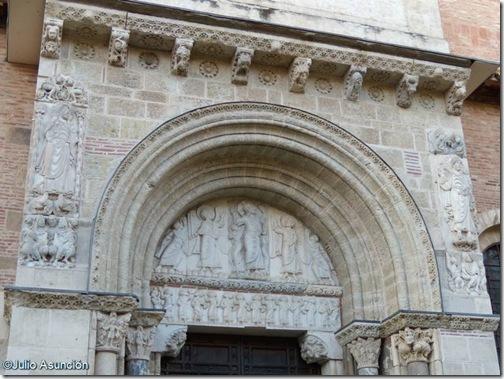 Portada - Basílica de Saint Sernin - Toulouse