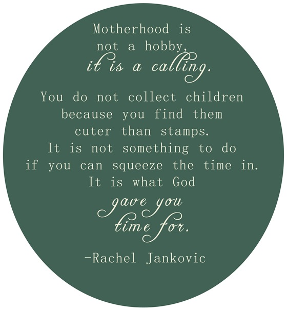 motherhood calling