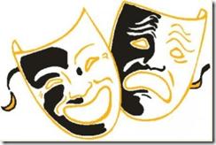 Símbolo do teatro - Tournê da Peça ninguém mais vai ser bonzinho