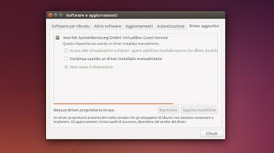 Ubuntu 14.04 -  Driver aggiuntivi