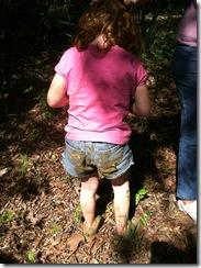 muddy butt
