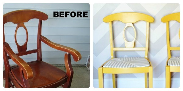 owens oliva chair makeover