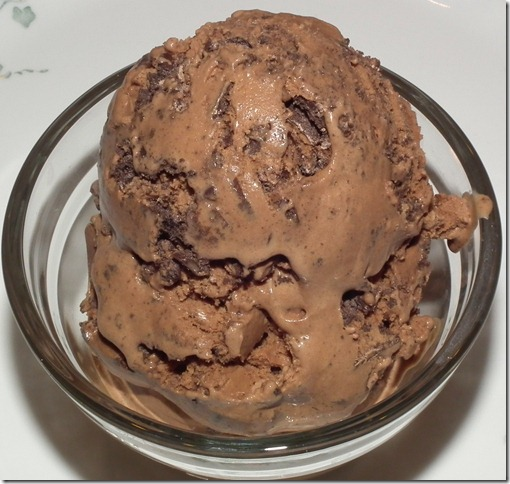 Chocolate Grasshopper Cookies Ice Cream 4-30-12
